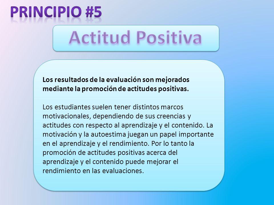 Actitud Positiva Principio #5