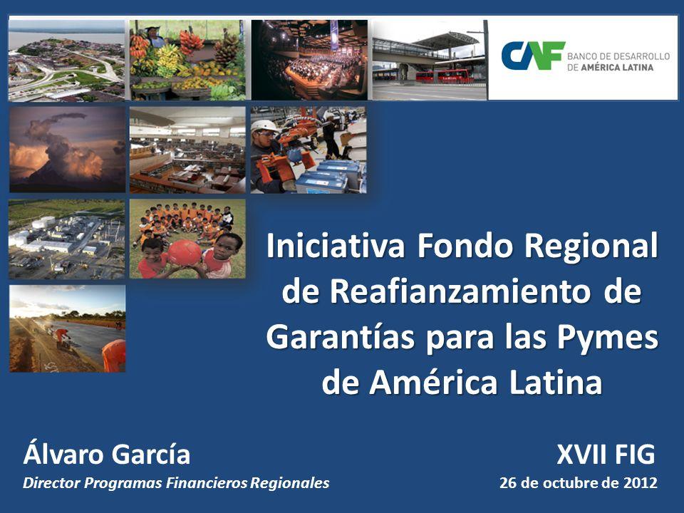 Iniciativa Fondo Regional de Reafianzamiento de Garantías para las Pymes de América Latina