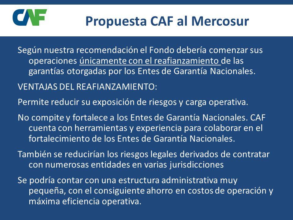 Propuesta CAF al Mercosur
