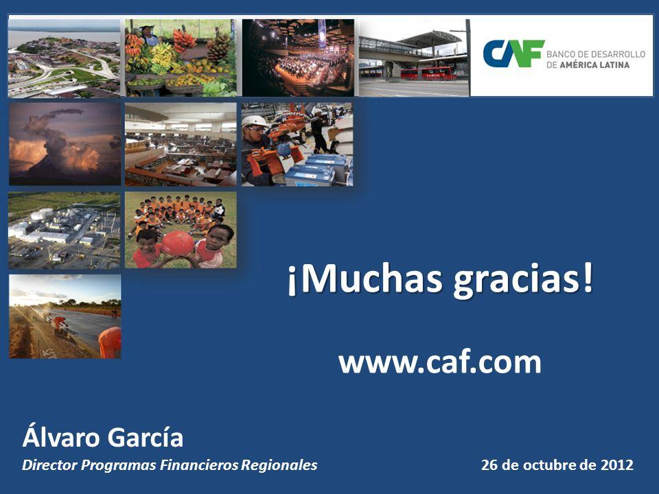 ¡Muchas gracias! www.caf.com