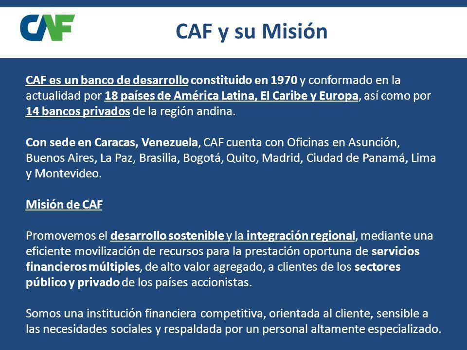 CAF y su Misión