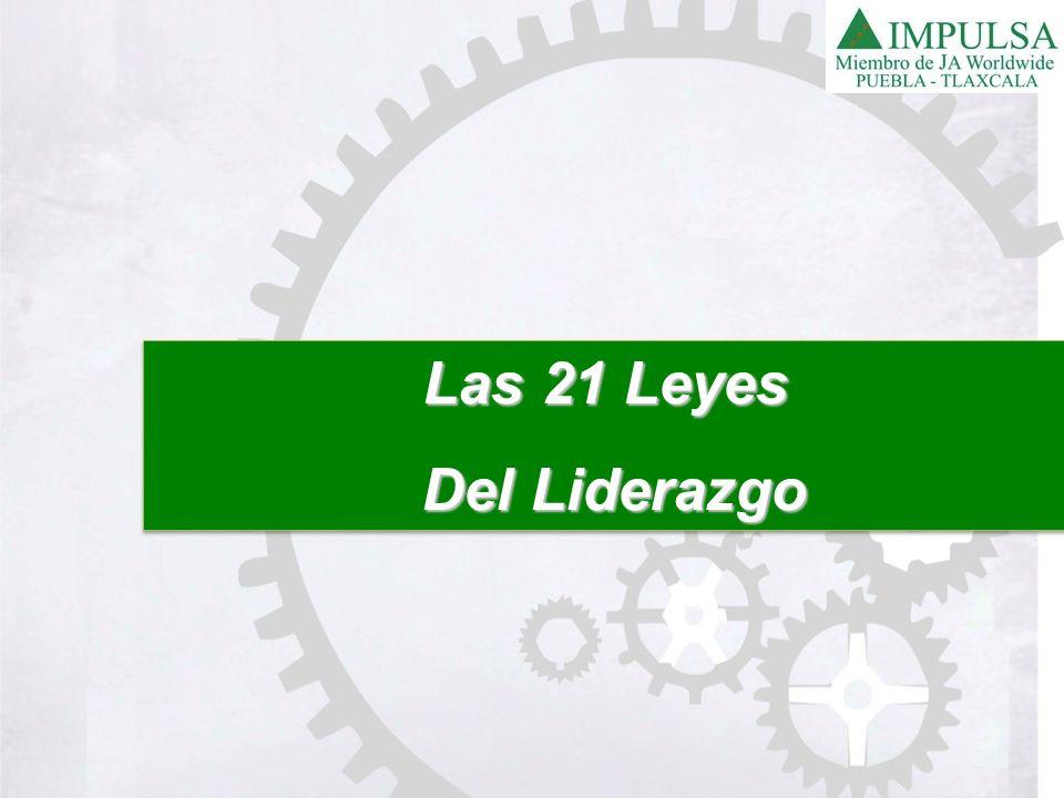 Las 21 Leyes Del Liderazgo