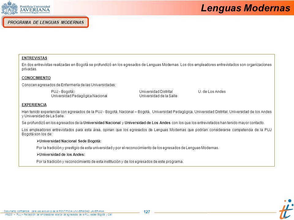 PROGRAMA DE LENGUAS MODERNAS