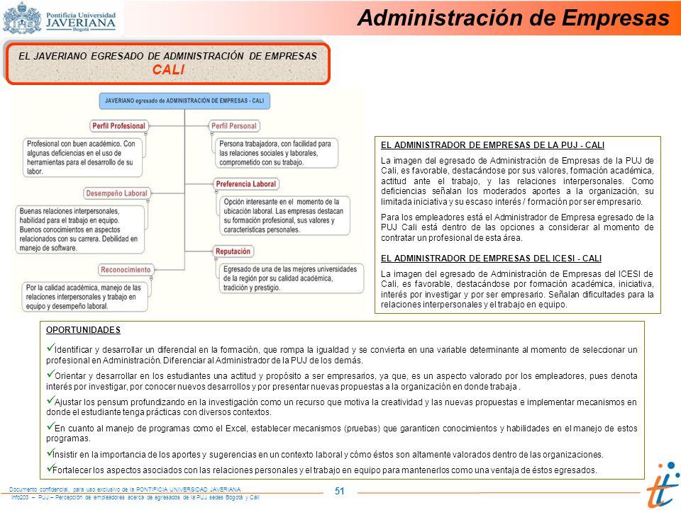 EL JAVERIANO EGRESADO DE ADMINISTRACIÓN DE EMPRESAS