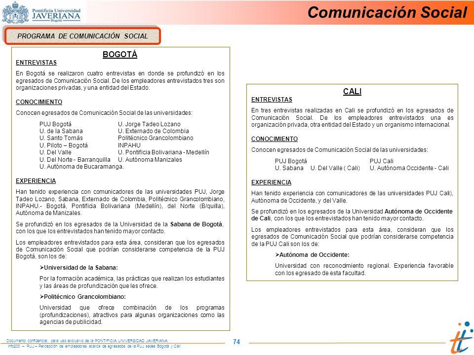 PROGRAMA DE COMUNICACIÓN SOCIAL