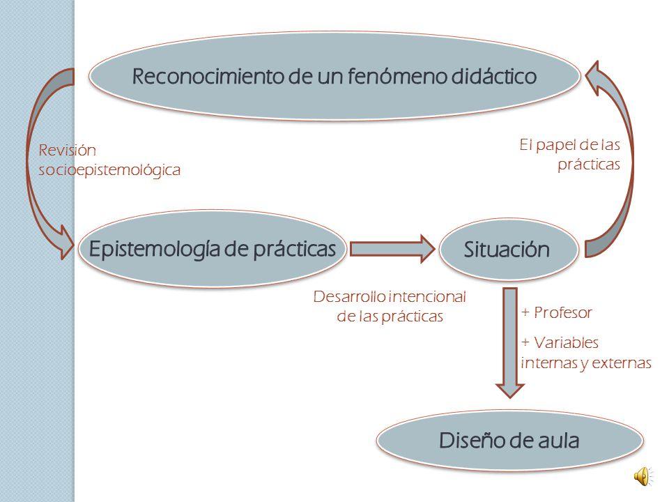 Reconocimiento de un fenómeno didáctico