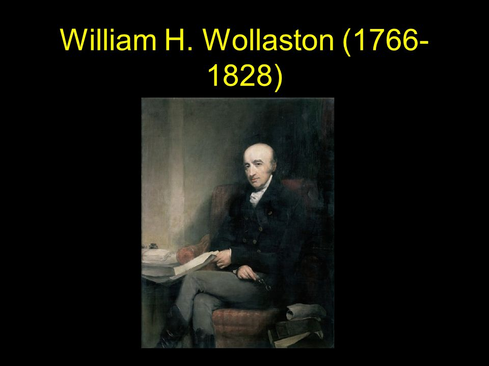 William H. Wollaston (1766-1828)