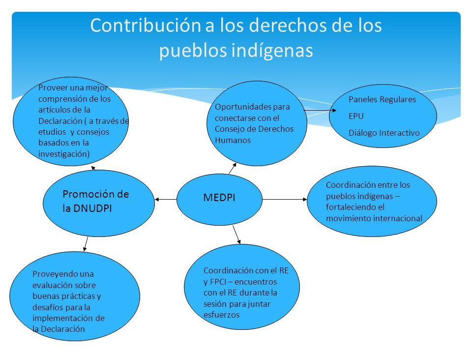 Contribución a los derechos de los pueblos indígenas