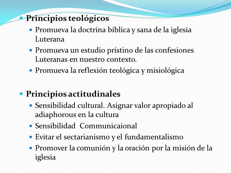 Principios teológicos