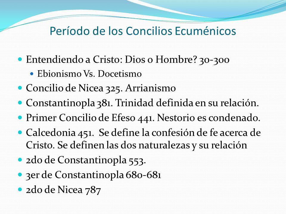 Período de los Concilios Ecuménicos