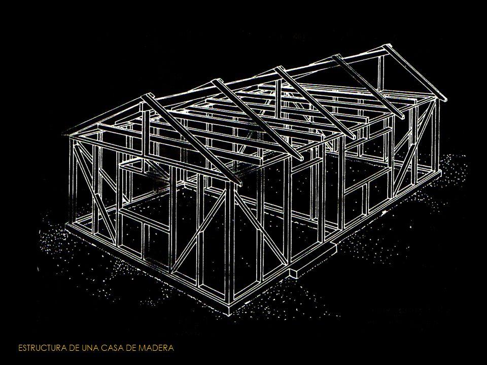 Tipo de patolog as propias de la arquitectura en tierra - Estructura casa madera ...