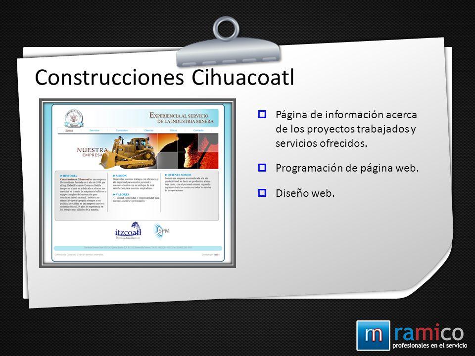 Construcciones Cihuacoatl