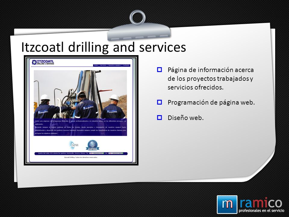 Itzcoatl drilling and services
