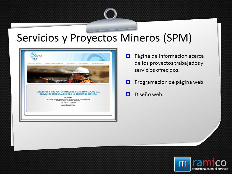 Servicios y Proyectos Mineros (SPM)