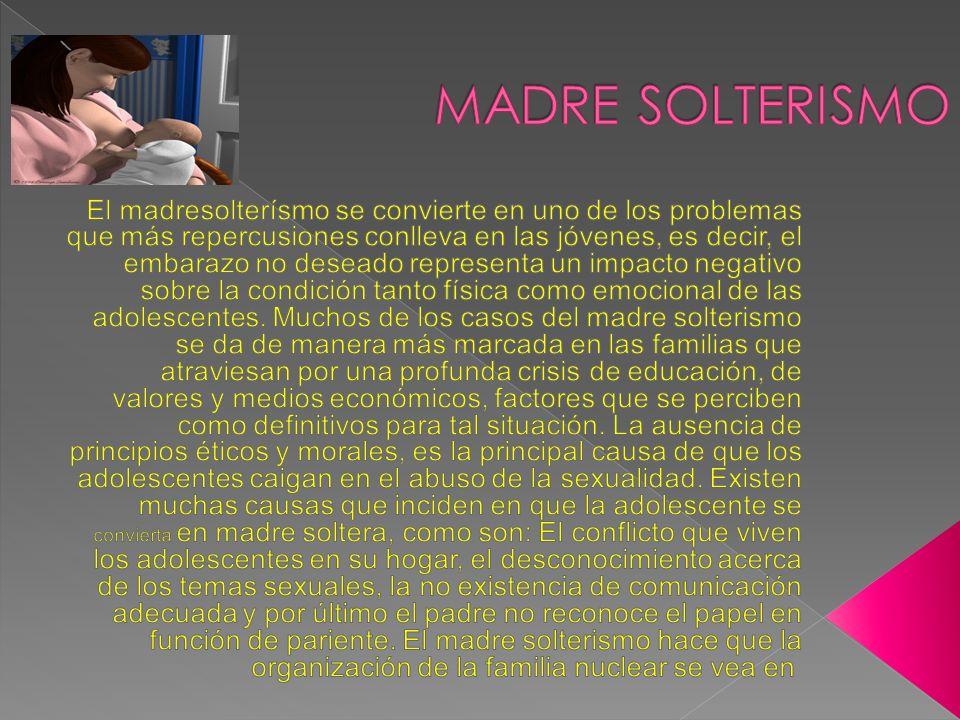 MADRE SOLTERISMO