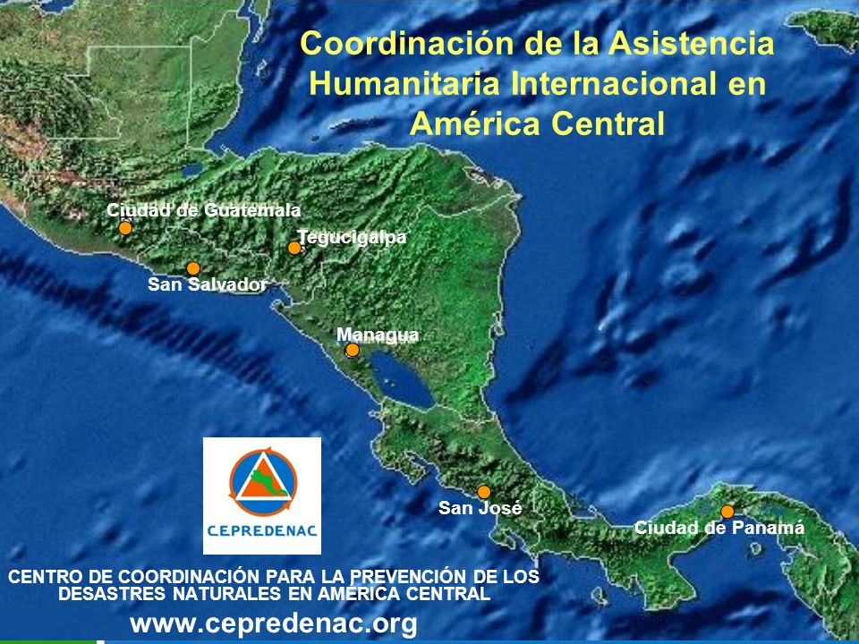 Coordinación de la Asistencia Humanitaria Internacional en América Central