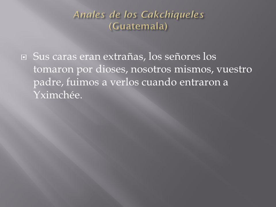 Anales de los Cakchiqueles (Guatemala)