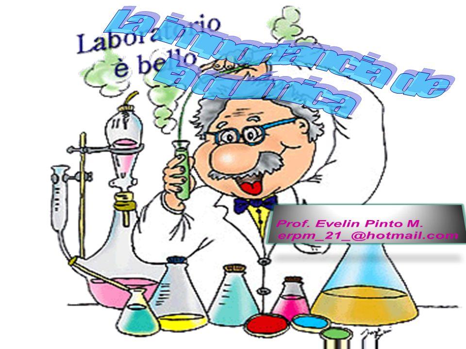 La importancia de la química Prof. Evelin Pinto M. erpm_21_@hotmail.com
