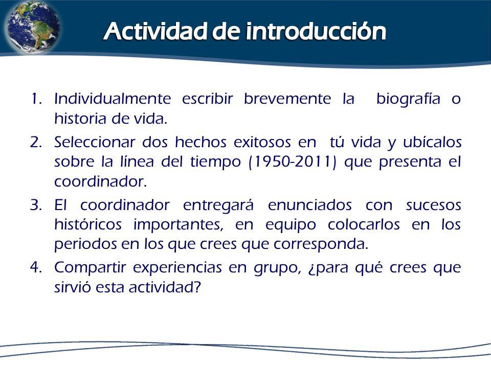 Actividad de introducción