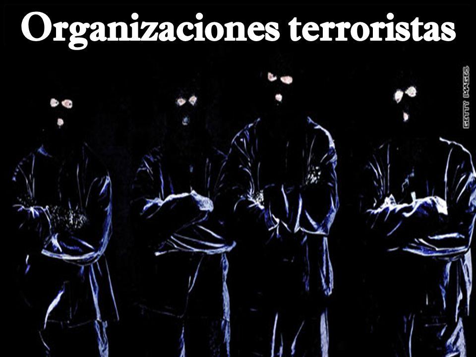 Organizaciones terroristas