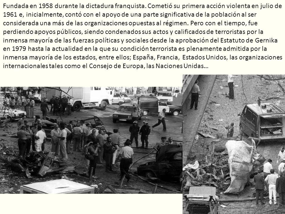 Fundada en 1958 durante la dictadura franquista