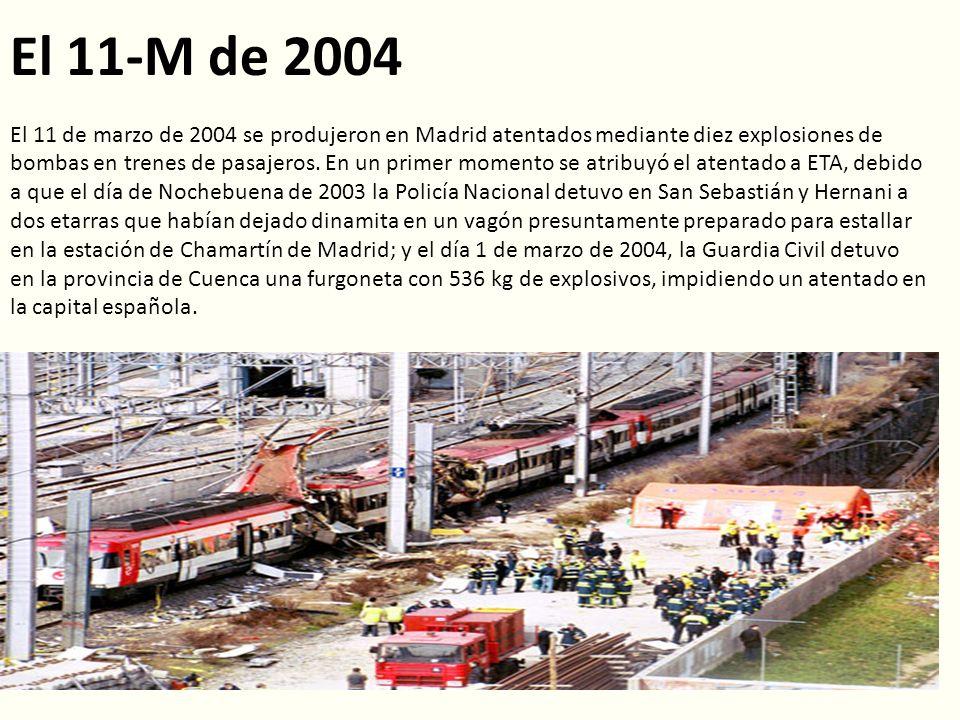 El 11-M de 2004