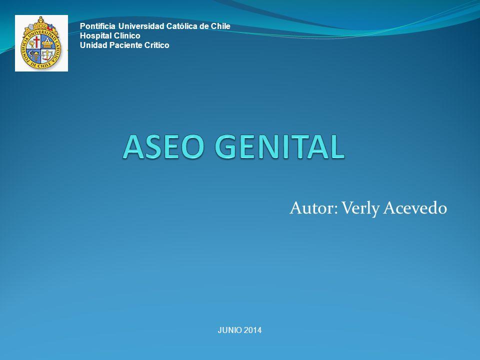 ASEO GENITAL Autor: Verly Acevedo