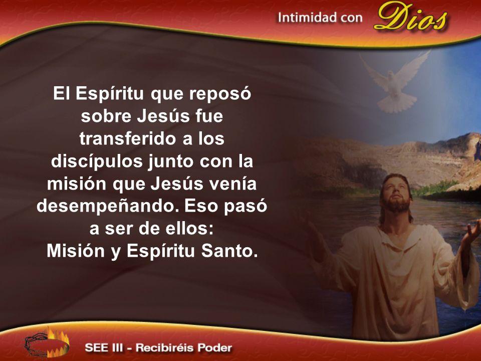 Misión y Espíritu Santo.