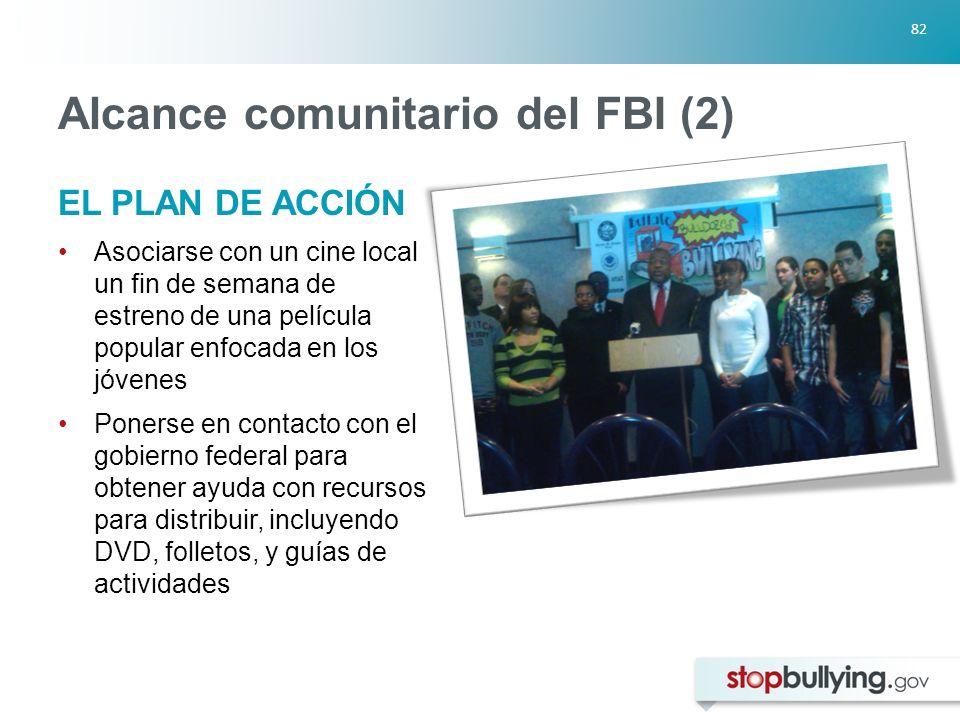 Alcance comunitario del FBI (2)