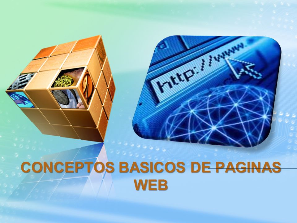CONCEPTOS BASICOS DE PAGINAS WEB