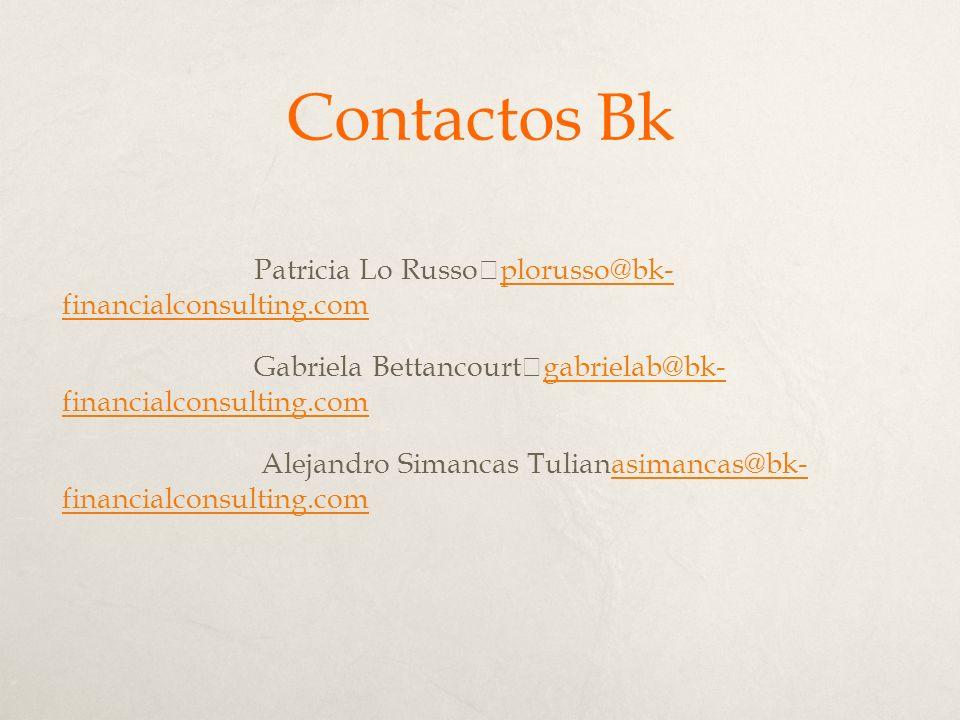 Contactos Bk