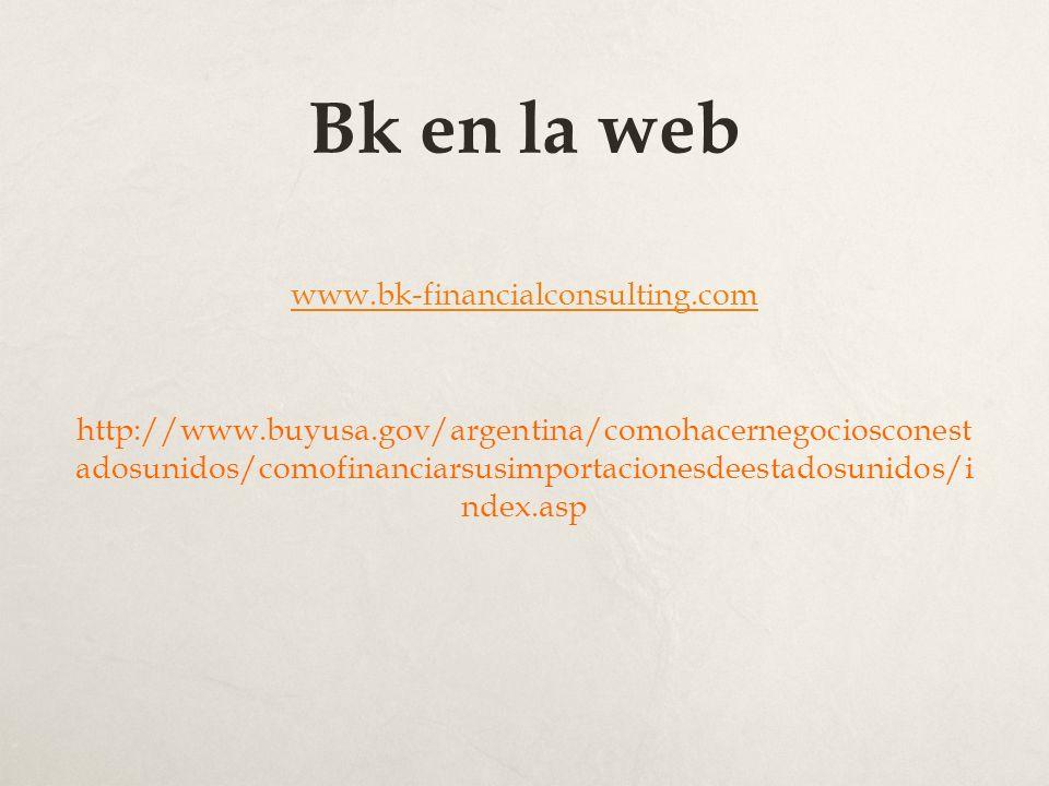 Bk en la web