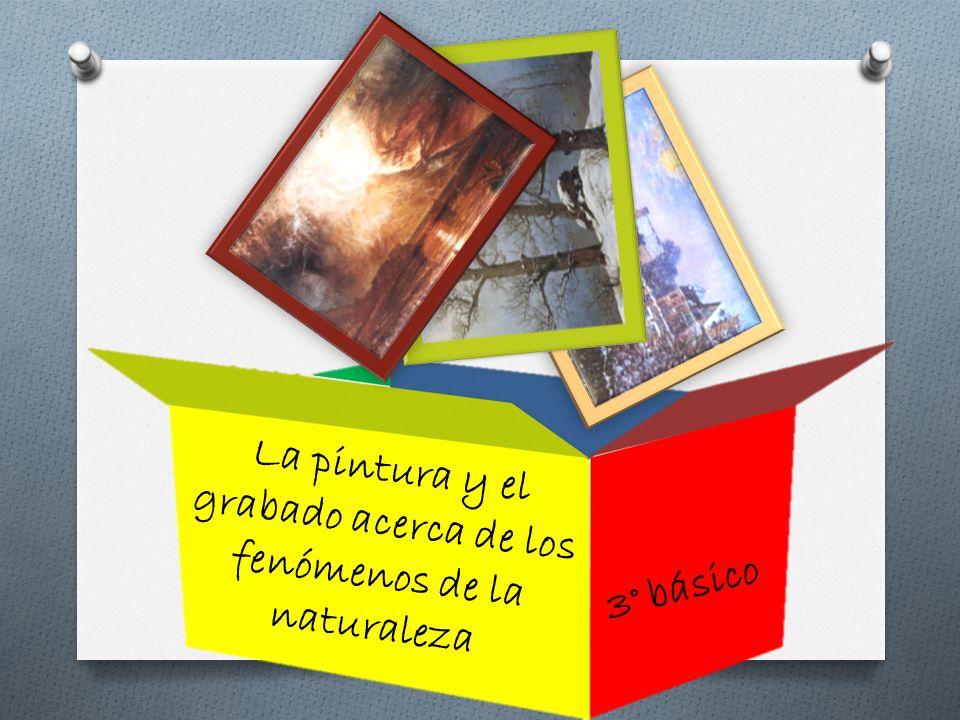 La pintura y el grabado acerca de los fenómenos de la naturaleza