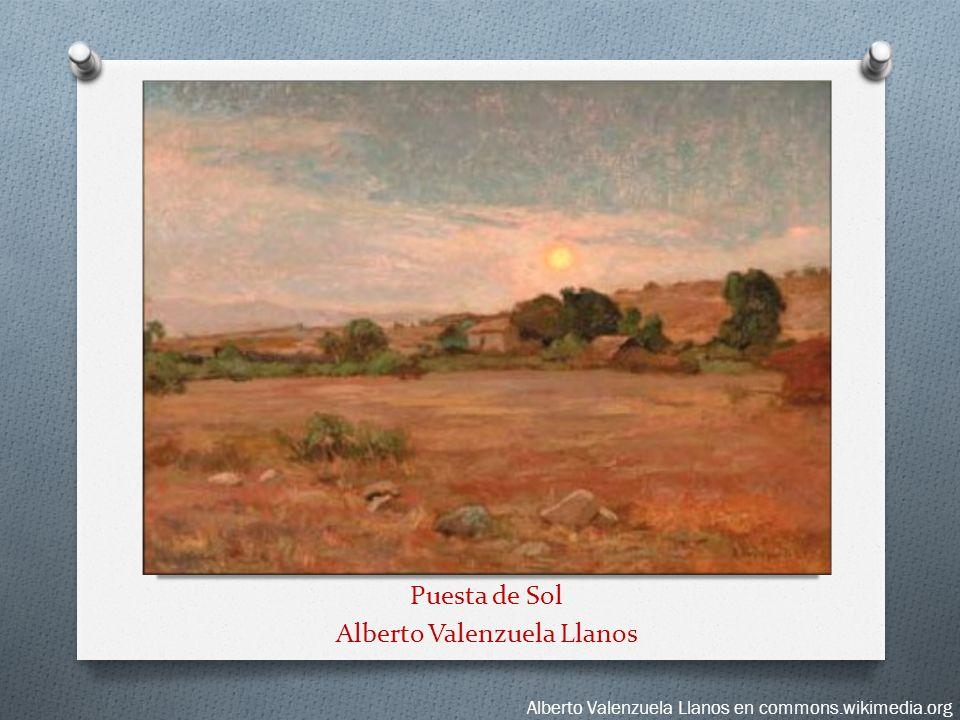 Puesta de Sol Alberto Valenzuela Llanos