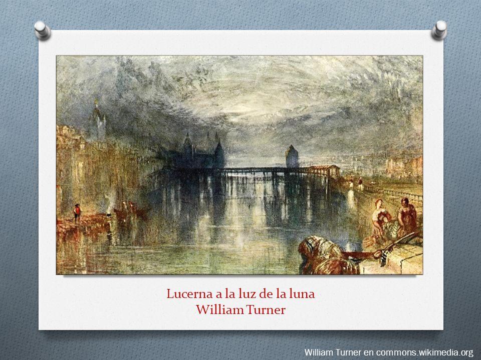 Lucerna a la luz de la luna William Turner