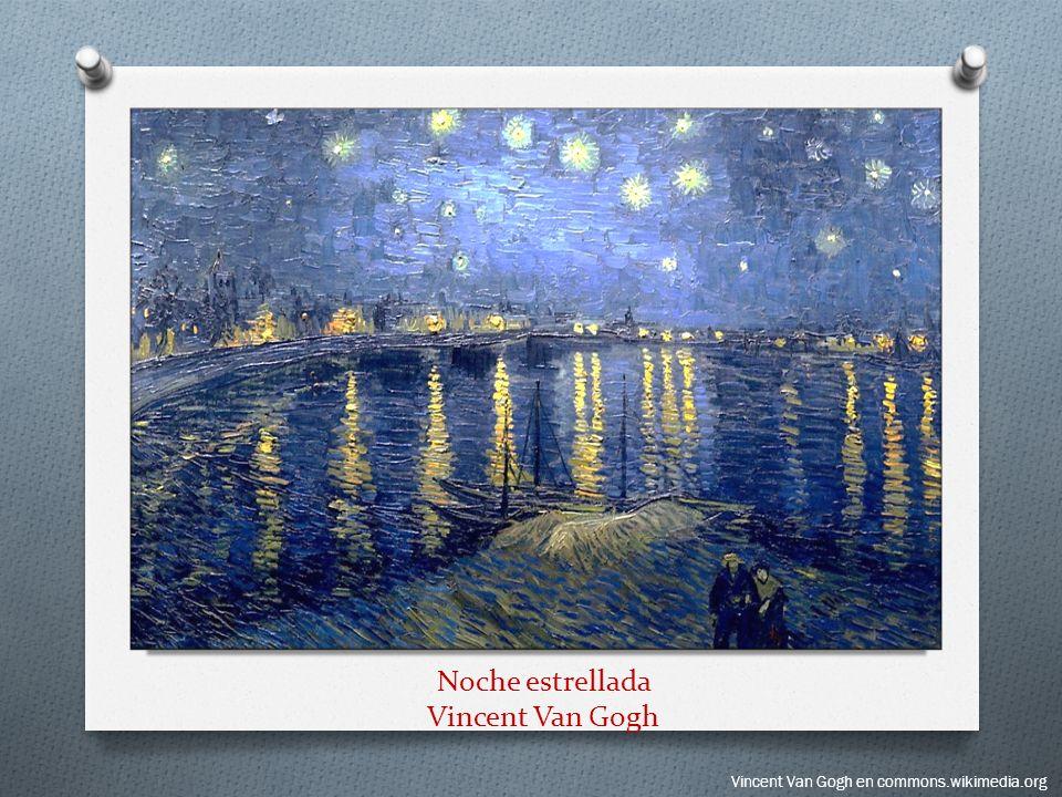 Noche estrellada Vincent Van Gogh
