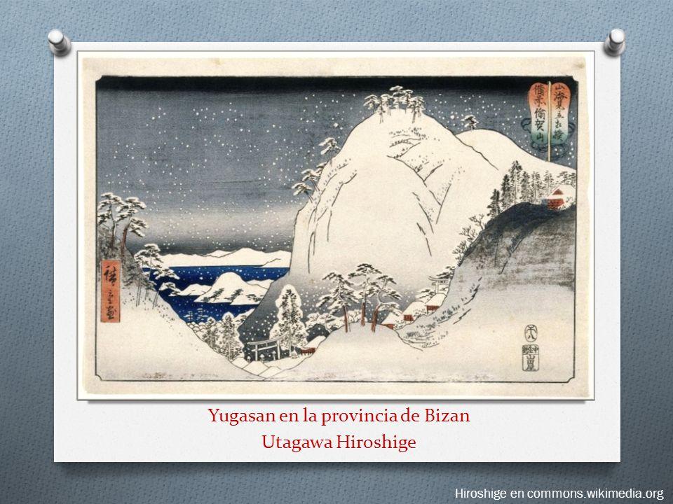 Yugasan en la provincia de Bizan Utagawa Hiroshige