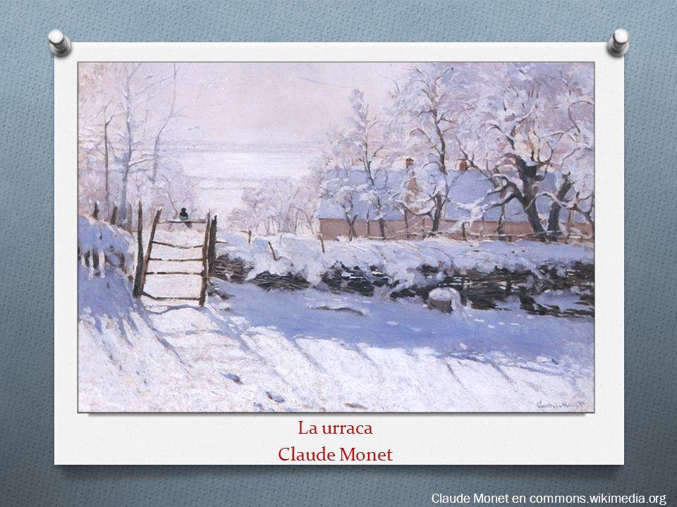 La urraca Claude Monet Claude Monet en commons.wikimedia.org