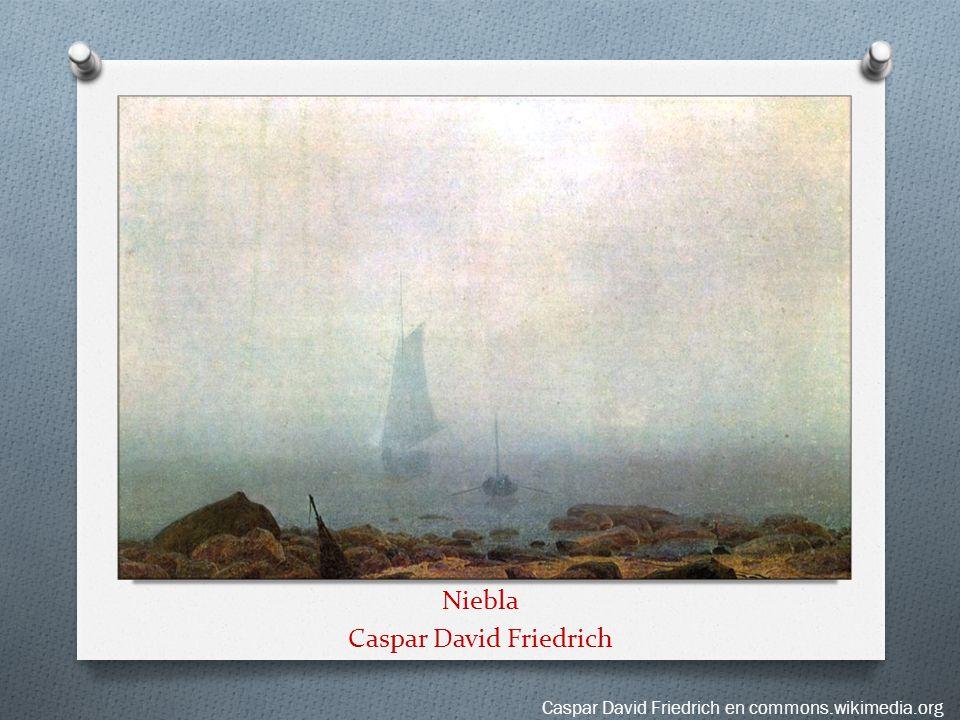 Niebla Caspar David Friedrich