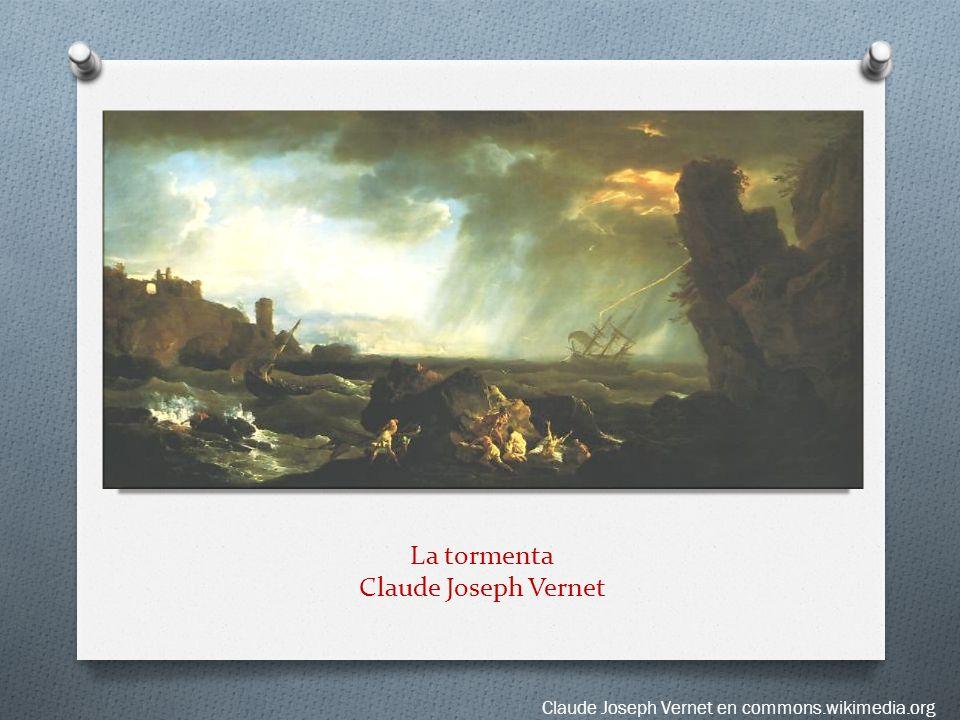 La tormenta Claude Joseph Vernet
