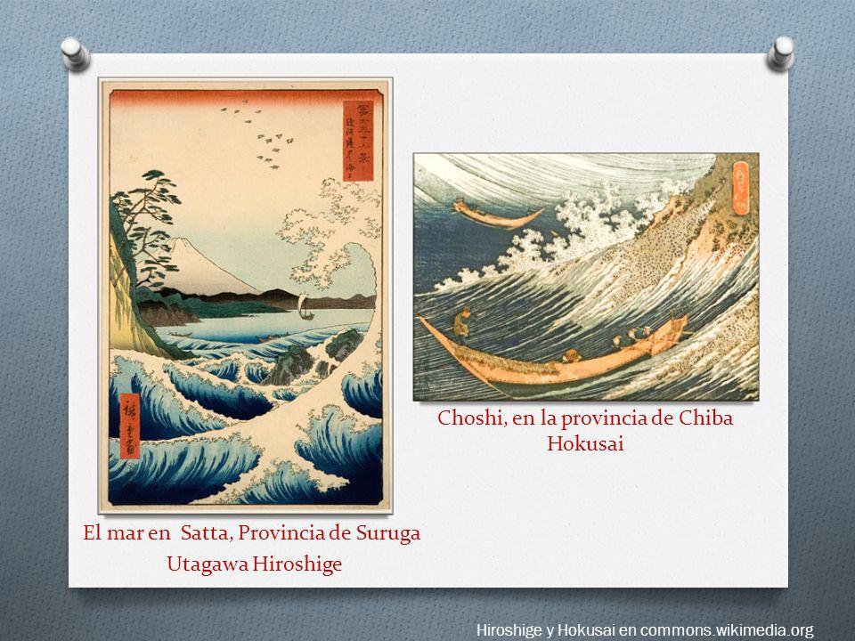Choshi, en la provincia de Chiba Hokusai