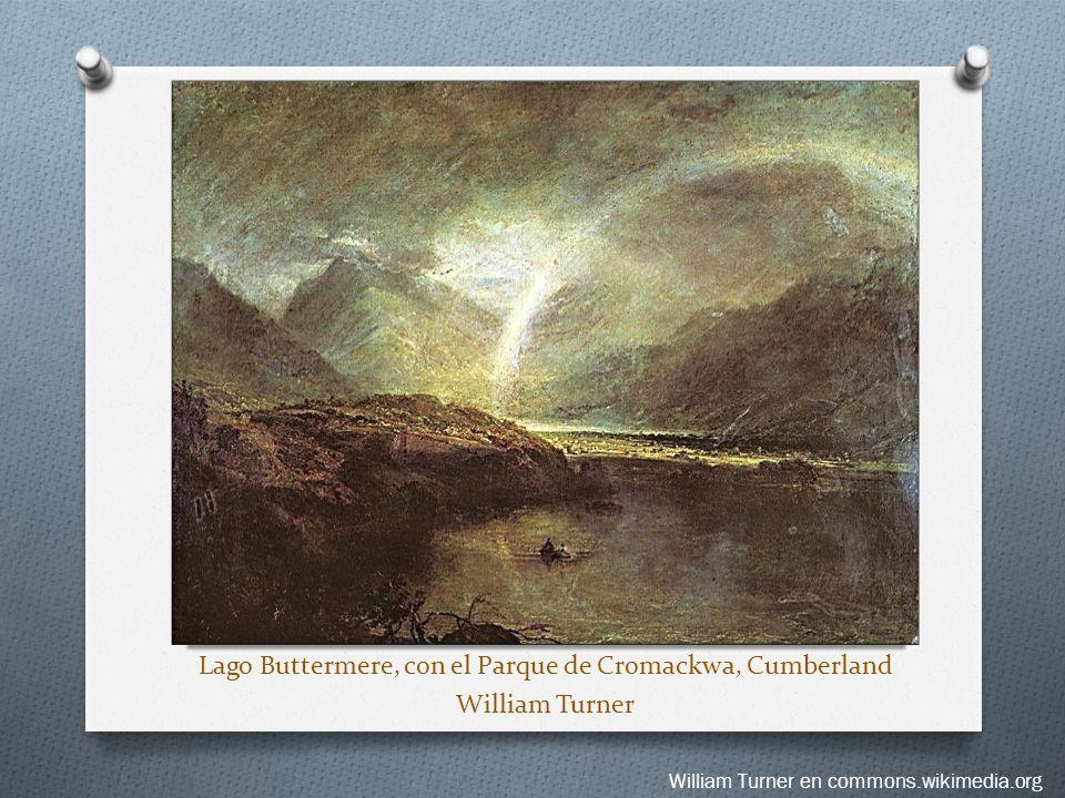 Lago Buttermere, con el Parque de Cromackwa, Cumberland William Turner