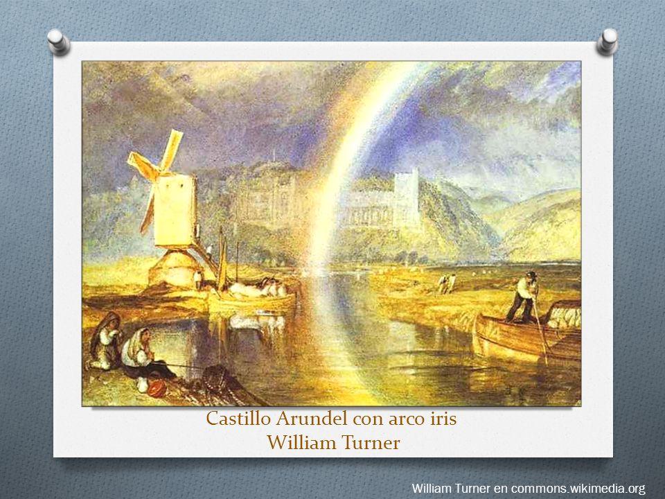 Castillo Arundel con arco iris William Turner