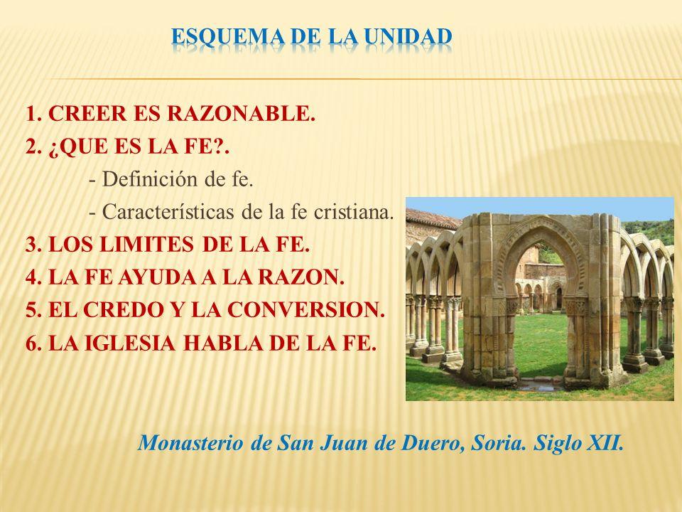Monasterio de San Juan de Duero, Soria. Siglo XII.