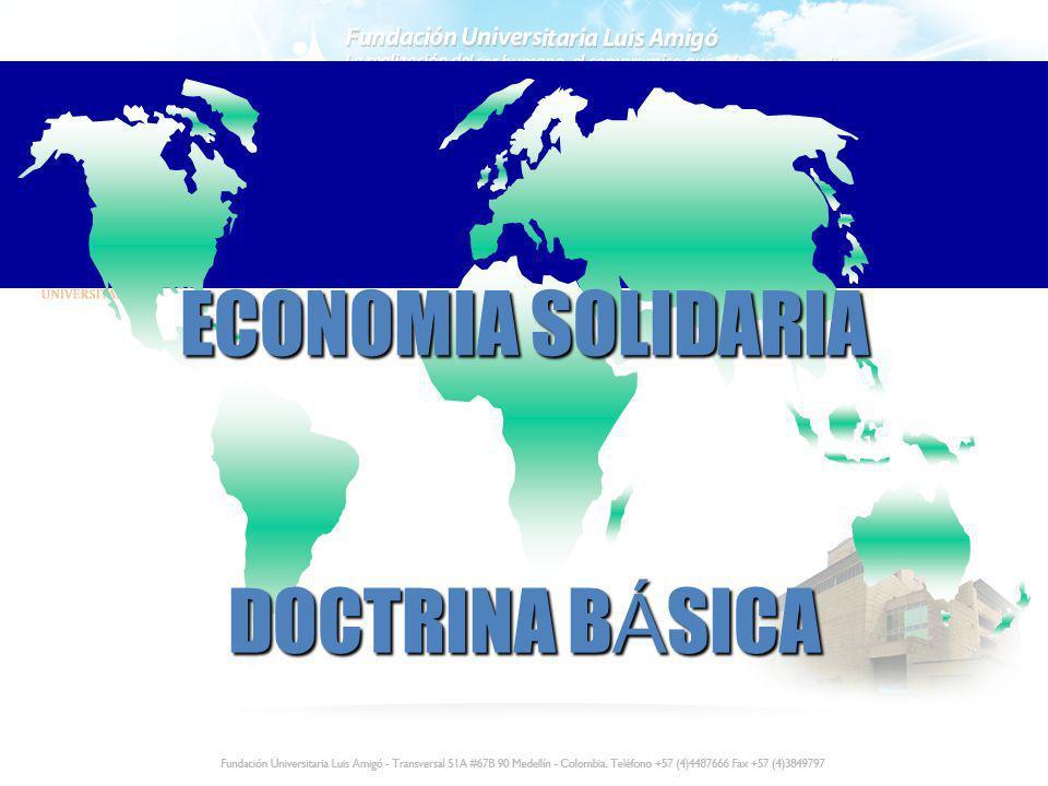 ECONOMIA SOLIDARIA DOCTRINA BÁSICA