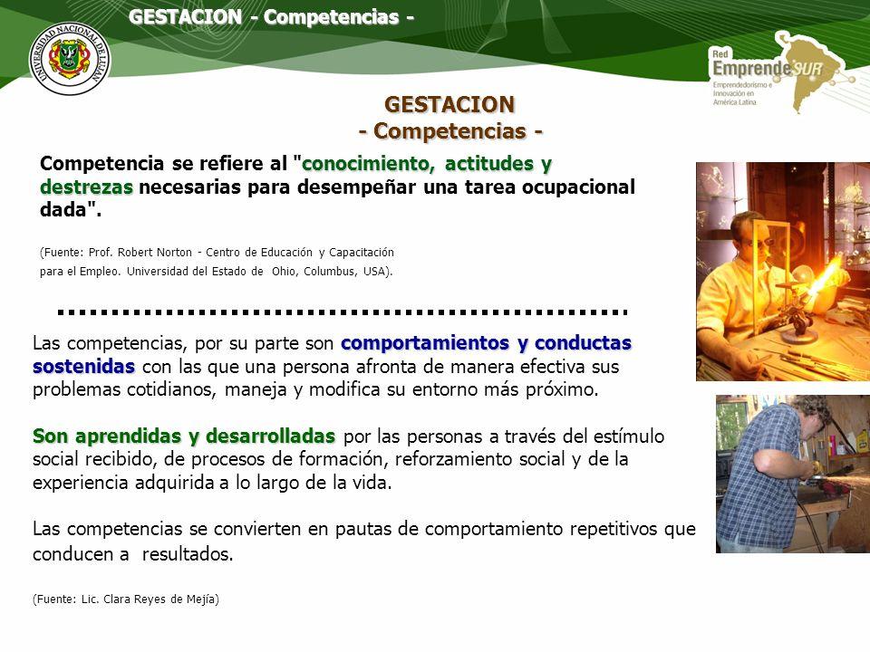 GESTACION - Competencias -