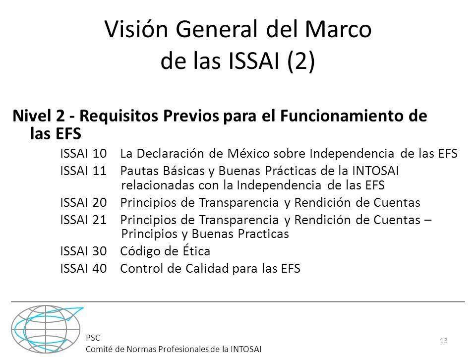 Visión General del Marco de las ISSAI (2)