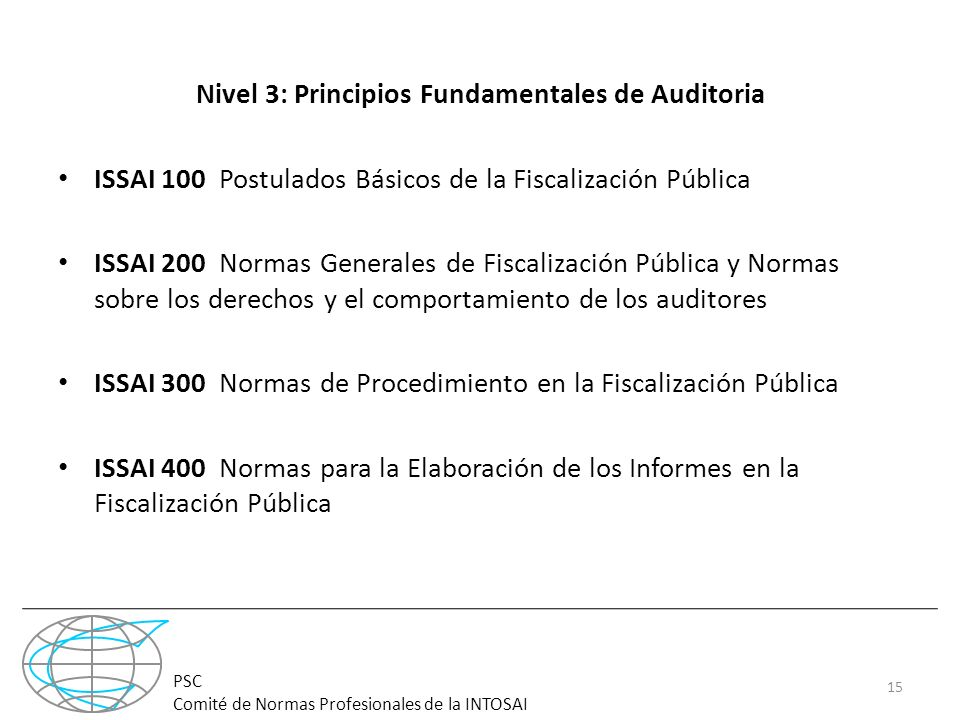 Nivel 3: Principios Fundamentales de Auditoria