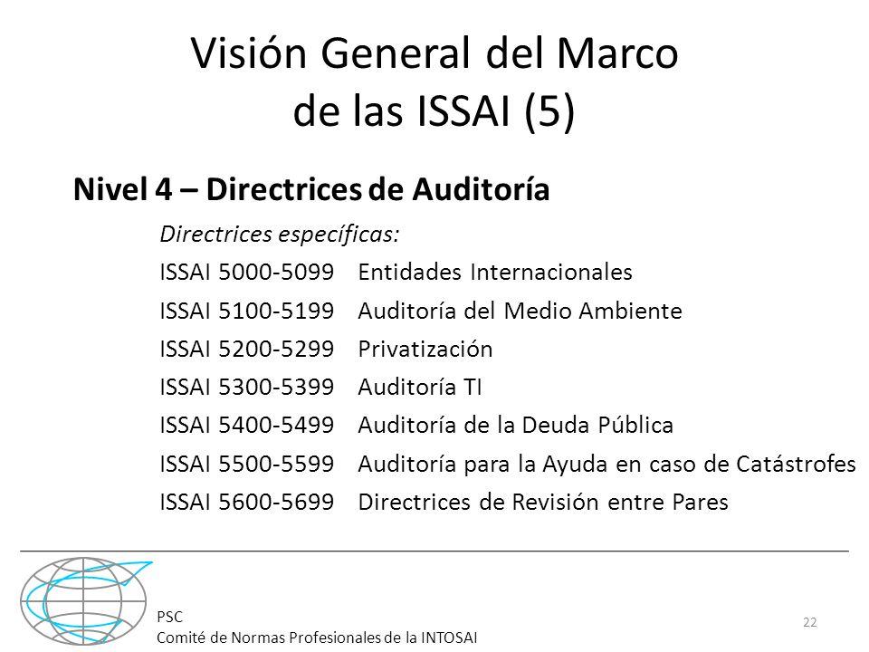 Visión General del Marco de las ISSAI (5)