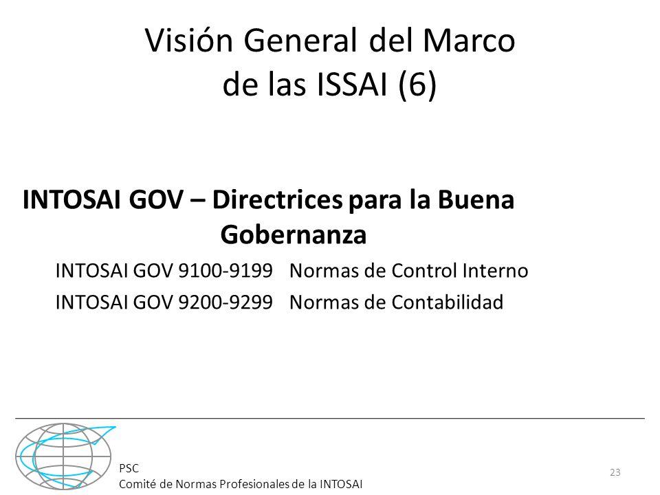Visión General del Marco de las ISSAI (6)